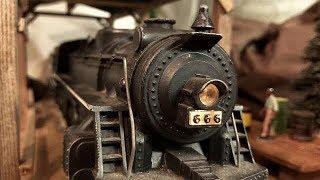 Nightmare Train 7 : 666 RETURNS  Marx v Lionel collision