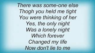 Arabesque - The Only Night Was A Lonly Night Lyrics