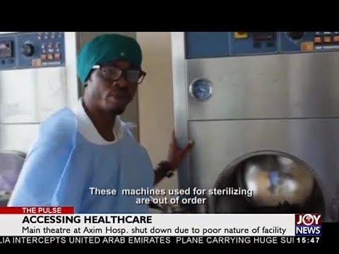 Accessing Healthcare - The Pulse on JoyNews (9-4-18)