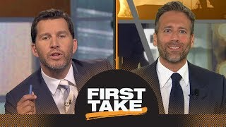 Who would you rather have Saquon Barkley or Sam Darnold? | First Take | ESPN