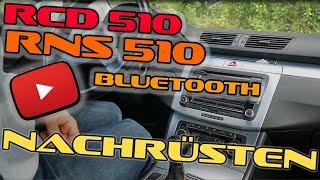 RCD 510 und RNS 510 Bluetooth streaming nachrüsten GÜNSTIG