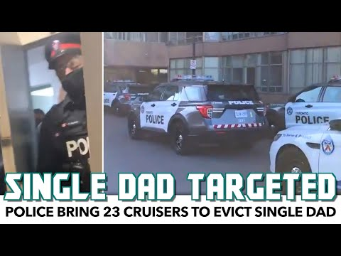 Police Bring 23 Cruisers To Evict Single Dad