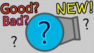 Diep.io NEW UPDATE - NEW TANK YEY!!!  - ROCKETEER