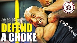 REAR Naked CHOKE Defence | How to Fight Someone Stronger than You