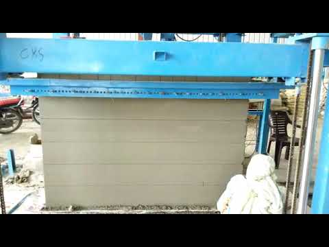 32 Cubic Meter AAC Block Manufacturing Plant