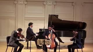 Brahms Piano Quartet G Minor Mvt. 4 David Lisker, Bela Horvath, Yves Dharamraj, Larry Weng