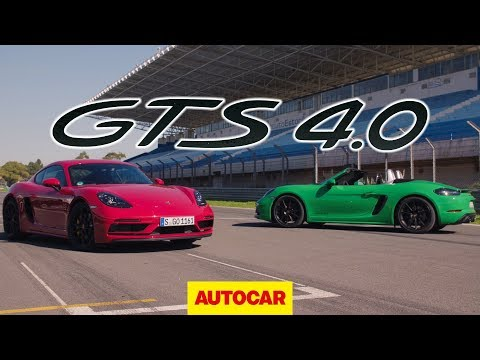 Porsche 718 Cayman GTS & Boxster GTS 2020 review | 4.0 6cyl first drive | Autocar