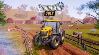 Farmer Sim 2018 (by Ovidiu Pop) Android/iOS HD GamePlay [AndroGaming]