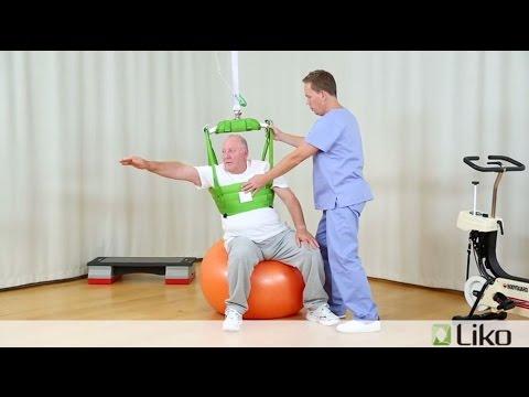 Mobilisation/Rehab using Liko Safe Patient Handling Equipment