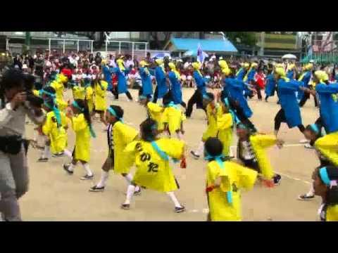 2010年 近田幼稚園 運動会 どっこいしょ