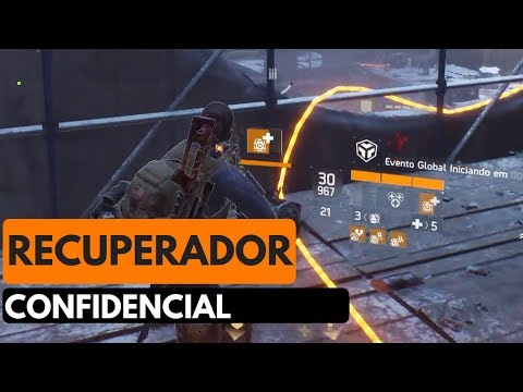 THE DIVISION-RECUPERADOR CONFIDENCIAL-PORTUGUÊS- XBOX ONE E PS4