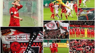 preview picture of video 'Stimmung - DfB Pokal 2014/2015 - Bayer 04 Leverkusen - 1. FC Kaiserslautern (2:0 n.V.)'