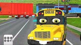 Мультфильмы Мультики #Машинки - сериал для мальчиков Городской транспорт Поезда Видео для детей 2017