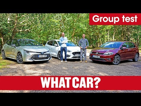 2020 Toyota Corolla vs VW Golf vs Ford Focus – is hybrid better than petrol or diesel?   What Car?