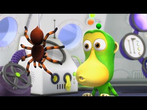 Обезьянки из космоса - Ядовитый паук (30 серия) | Новые мультики
