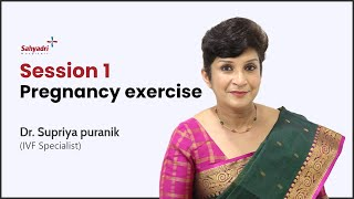 Workout During Pregnancy first Trimester | Yoga During Pregnancy at Home | Dr Supriya Puranik
