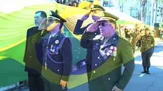Desfile cívico-militar comemora Dia da Independência