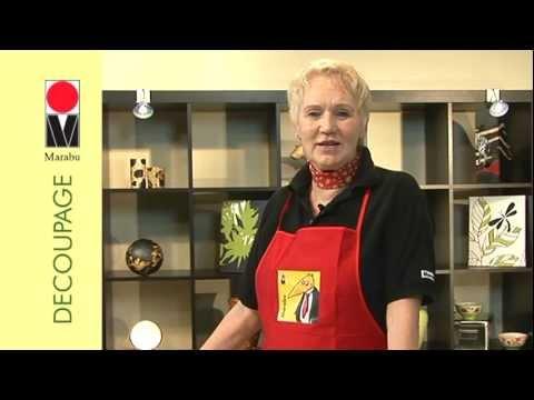 Marabu Anleitungsvideo | Gestalten mit Marabu Decoupage