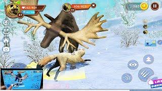 WildCraft Animal Sim Online 3D #33 LV 47 Wild Wolf Pet Simulator Games Android ios Gameplay