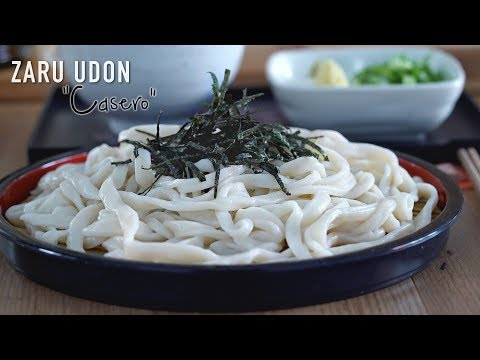 Zaru Udon Receta Japonesa fácil - Japanese Chilled Noodles with Dipping Sauce