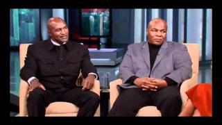 Mike Tyson Apologizes to Evander Holyfield for Biting Ear During Match