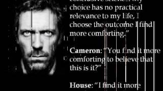House MD Atheism Quotes