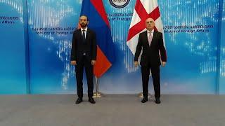 Встреча министров иностранных дел Армении и Грузии