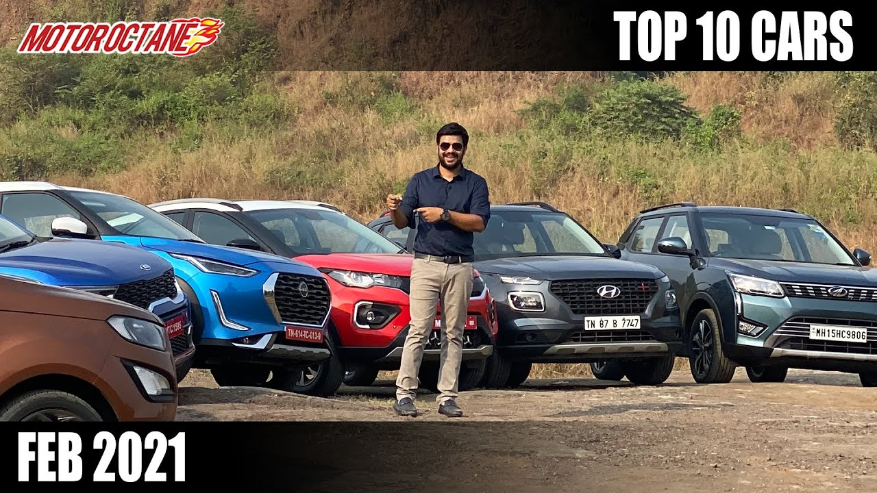 Motoroctane Youtube Video - Top 10 Cars in Feb 2021 - Hindi - MotorOctane