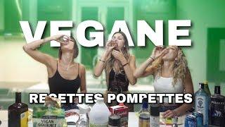 RECETTES POMPETTES VEGANE. w/Milaydie, Cath Bastien & Born Diva