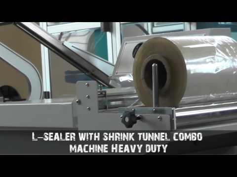 L Sealer with Shrink Tunnel Machine
