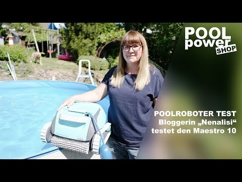 "Poolroboter Dolphin Maestro 10 - Bloggerin ""Nenalisi"" testet den Poolroboter"