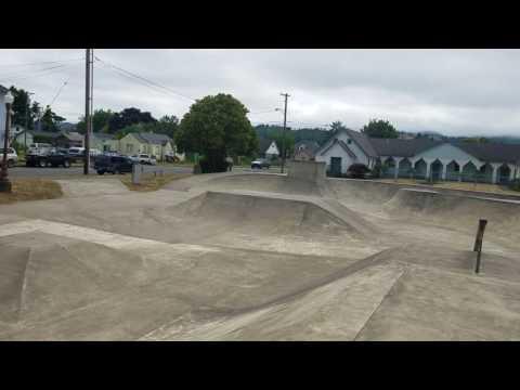 #skatethru Myrtle Point Skatepark, OR