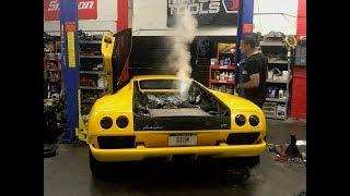 Is the Lamborghini Diablo the most expensive clutch job?