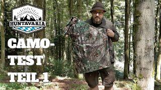 Camouflage im Test - aus der Sicht des Wildes - Teil 1