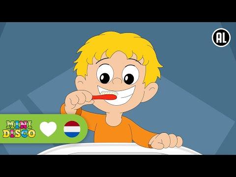 Kinderliedjes | Tekenfilm | POETS JE TANDEN | Minidisco