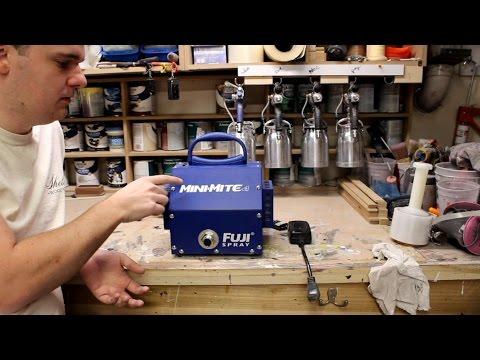 Tool Reviews: Fuji Mini-Mite 4 HVLP Spray System