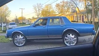I Sold My Box Chevy Caprice on 24s to Vinny 4/17/17 - YouTube