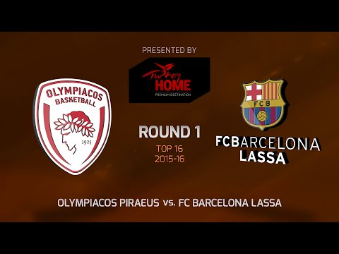 Highlights: Top 16, Round 1, Olympiacos Piraeus 74-62 FC Barcelona Lassa
