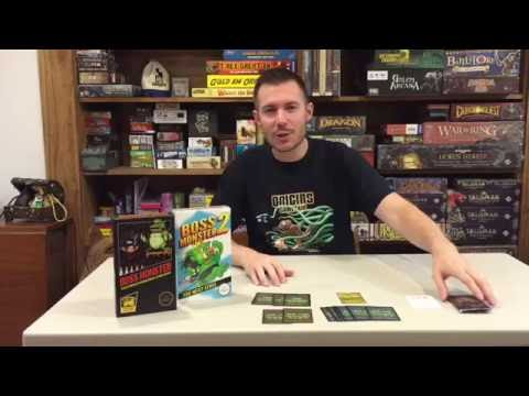 BOSS MONSTER Paper and Pixels expansion review