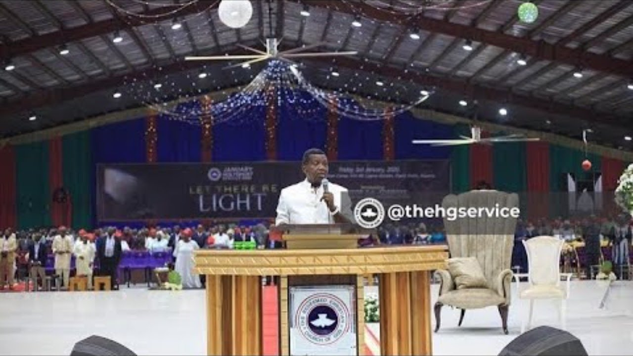 Live: RCCG May Divine Encounter 2021 - Pastor E.A. Adeboye Sermon
