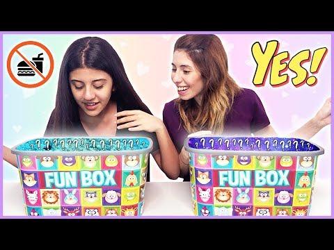 Kutudan Ne Çıkacak Challenge Eğlenceli Çocuk Videosu Dila Kent