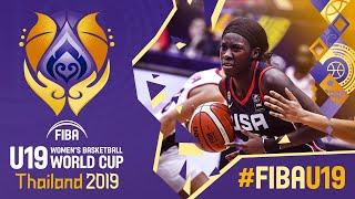 Canada v USA  - Full Game - FIBA U19 Women's Basketball World Cup 2019