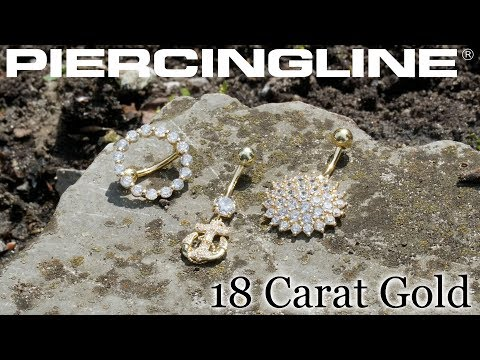 Ein Hauch von Luxus mit Piercings in edlem 18 Karat #Echtgold