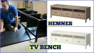IKEA HEMNES Tv Bench Assembly