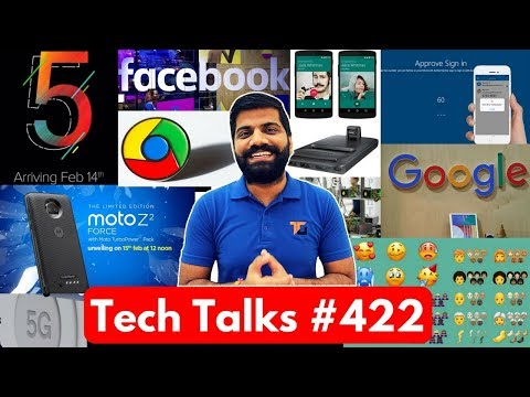 Tech Talks #422 – Redmi Note 5, Whatsapp Calling Charges?, 157 New Emojis, Moto Z2 Force India