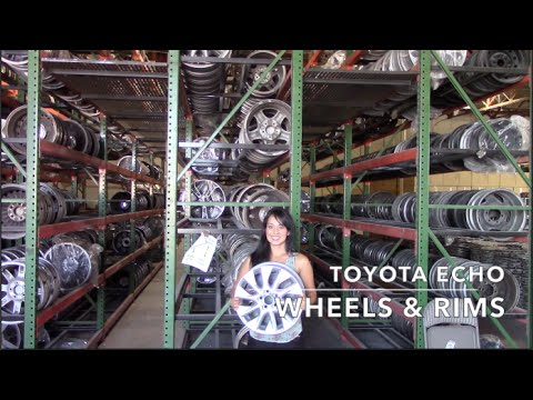 Factory Original Toyota Echo Rims & OEM Toyota Echo Wheels – OriginalWheel.com