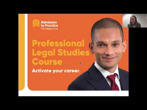 Professional Legal Studies Course with Jeanette Hobbs | September 2019