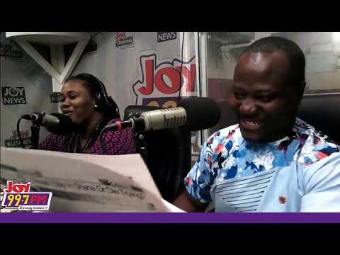 #JoySMS Newspaper Review on Joy FM (21-10-19)
