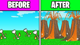 How To USE *VOLCANO ARROWS* In Minecraft!