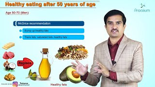 HEALTHY EATING AFTER 50: Did you know that your food needs change as you age? Must watch this video